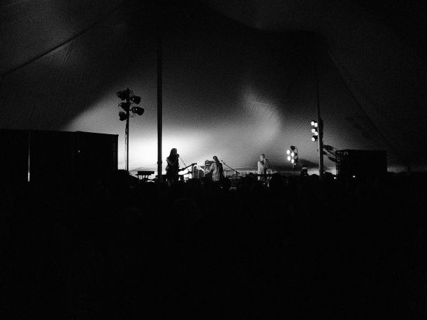 Warpaint at Grammer's Stage.