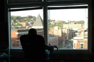 This was the view of 13th Street from my OTR loft. It was, with out question, the best place I have ever lived.