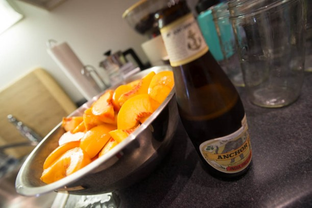 IPA and peaches? Always.
