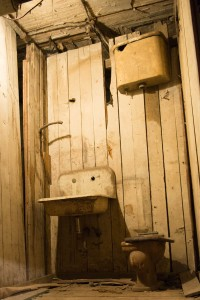 Historic crapper.
