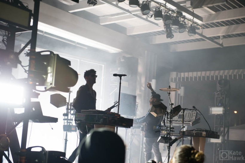 Chromeo, in spite of being two dudes with lots of technology, made for a fun performance.