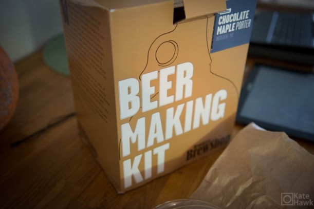 The beer kit. Chocolate Maple Porter it is.