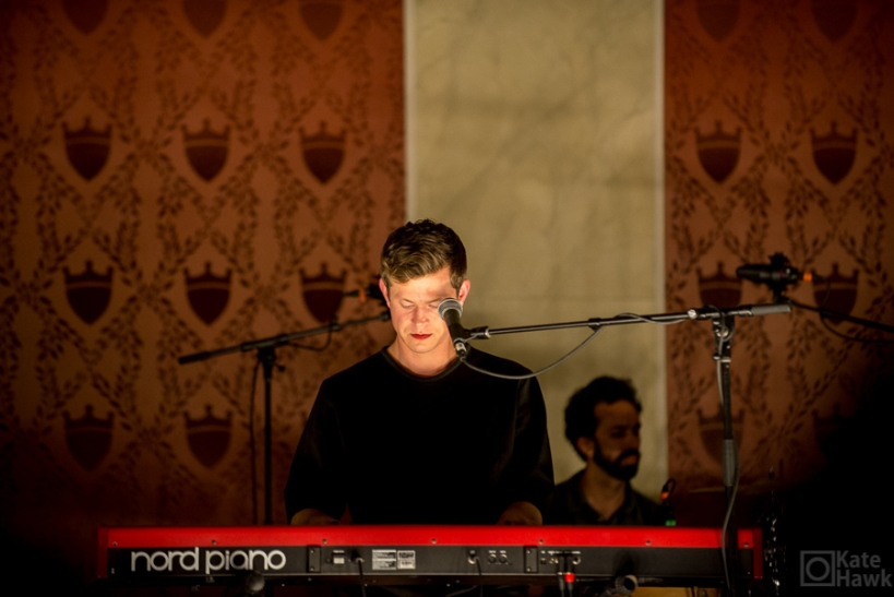 Picture of Perfume Genius performing at Memorial Hall