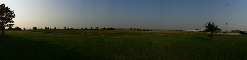 This panorama shot in South Dakota was intended to show how big the sky is. But I'm not convinced it achieves the goal.