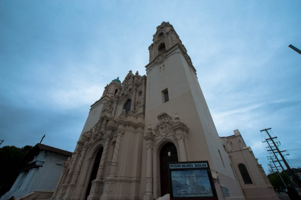 Picture of mission delores basilica