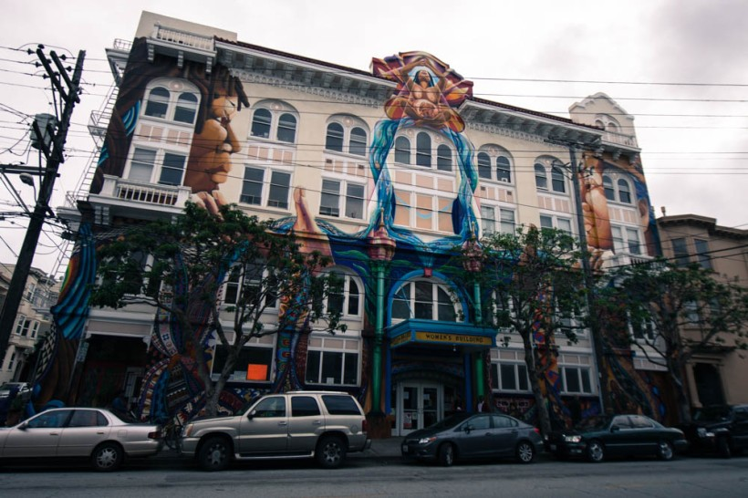 The women's building in The Mission