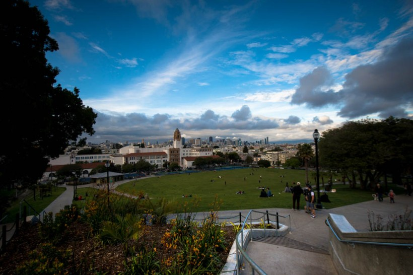 Picture of Delores Park, San Francisco