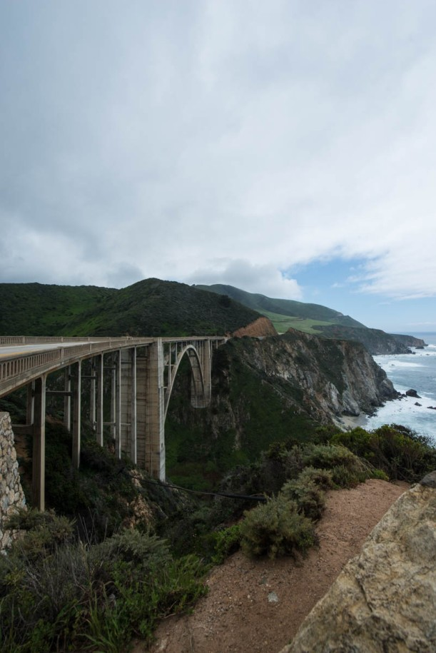 Bixby Bridge Highway One California