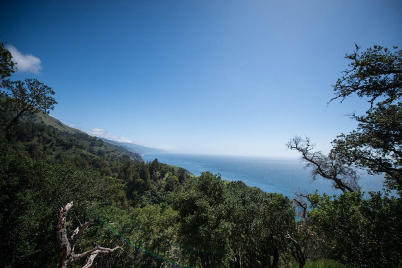 View from Nepenthe in Big Sur