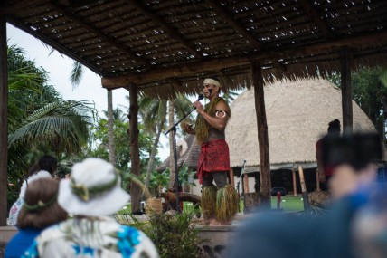 The Polynesian cultural center.