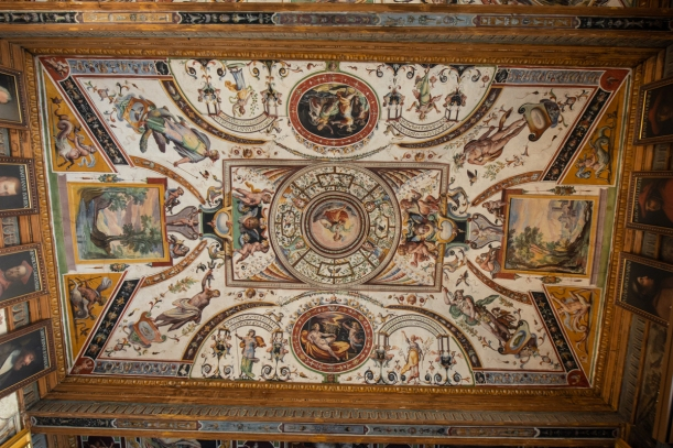 Oh you know, just a random ceiling in the Uffizi