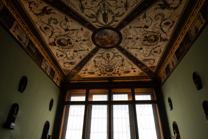 Yet another random ceiling in the Uffizi