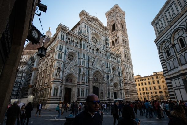 This is the Duomo. It's that intensely decorated on all sides.