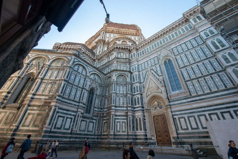 See. This is the Duomo's back end.