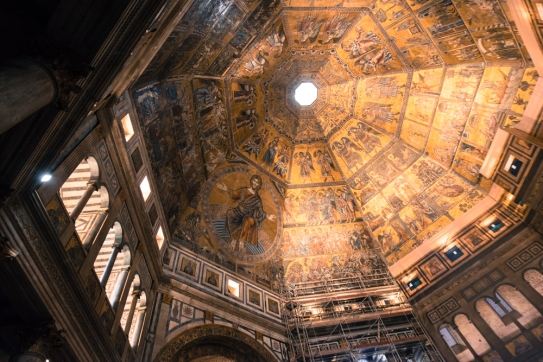 Keep in mind how ornate the Baptistry is in just a few pictures.