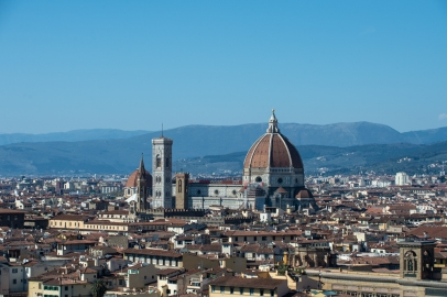 The Duomo from afar.