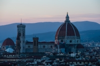 The Duomo at sunset.